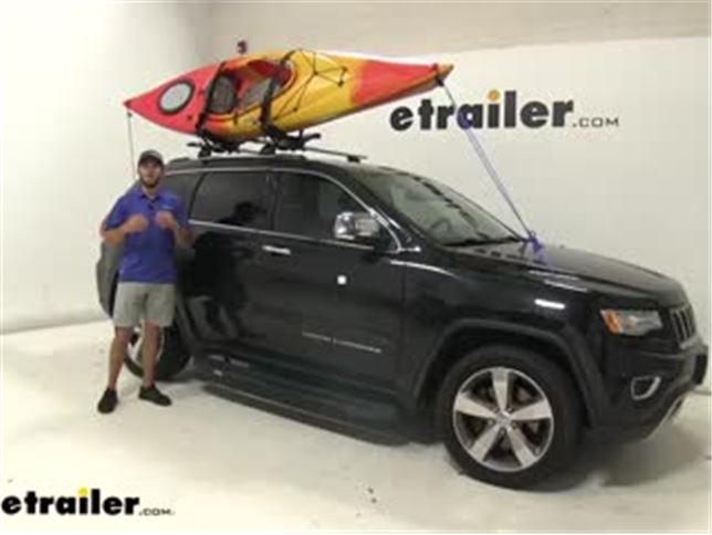 Thule Compass Kayak And Sup Carrier Review 2014 Jeep Grand Cherokee Video Etrailer Com