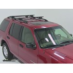 Thule Crossroad Roof Rack Installation - 2004 Ford Explorer