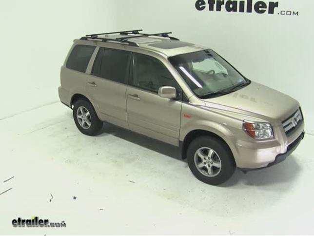 Thule Crossroad Roof Rack Installation   2007 Honda Pilot Video |  Etrailer.com