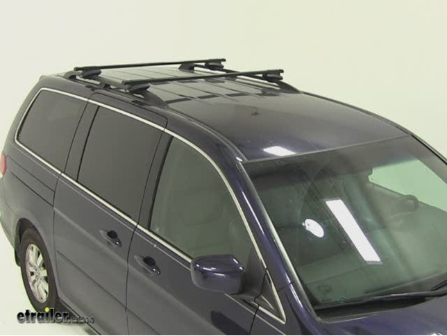 Thule Crossroad Roof Rack Installation 2008 Honda Odyssey Video