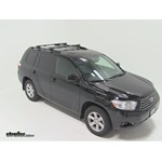 Thule Crossroad Roof Rack Installation - 2010 Toyota Highlander