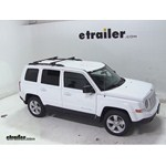 Thule Crossroad Roof Rack Installation - 2013 Jeep Patriot
