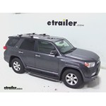Thule AeroBlade Crossroad Roof Rack Installation - 2012 Toyota 4Runner
