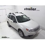 Thule AeroBlade Crossroad Roof Rack Installation - 2013 Subaru Forester