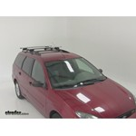 Thule AeroBlade Crossroad Roof Rack Installation - 2002 Ford Focus Wagon