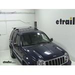 Thule AeroBlade Crossroad Roof Rack Installation - 2006 Jeep Liberty