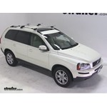 Thule AeroBlade Crossroad Roof Rack Installation - 2007 Volvo XC90 with 53 Inch Bars