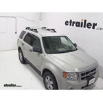 Thule AeroBlade Crossroad Roof Rack Installation - 2008 Ford Escape