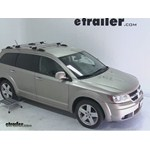 Thule AeroBlade Crossroad Roof Rack Installation - 2009 Dodge Journey