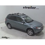 Thule AeroBlade Crossroad Roof Rack Installation - 2009 Subaru Forester