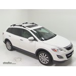 Thule AeroBlade Crossroad Roof Rack Installation - 2010 Mazda CX-9