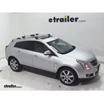 Thule AeroBlade Crossroad Roof Rack Installation - 2011 Cadillac SRX
