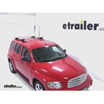 Thule AeroBlade Crossroad Roof Rack Installation - 2011 Chevrolet HHR