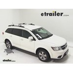 Thule AeroBlade Crossroad Roof Rack Installation - 2011 Dodge Journey