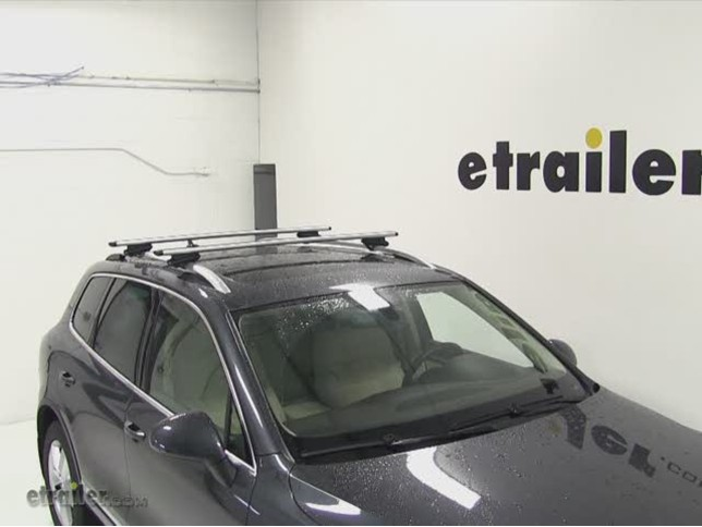 touareg roof rack weight limit