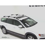Thule AeroBlade Crossroad Roof Rack Installation - 2011 Volvo XC70