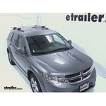 Thule AeroBlade Crossroad Roof Rack Installation - 2012 Dodge Journey