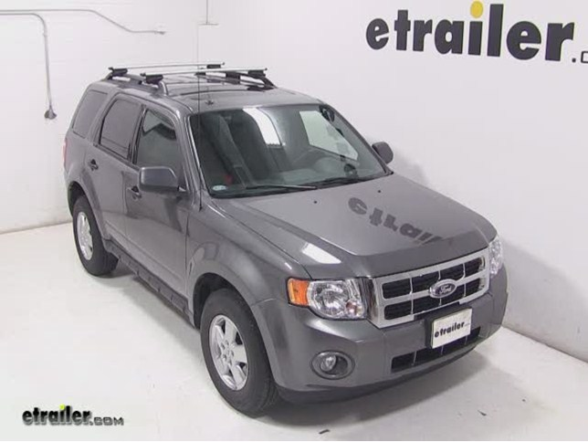 Ford Escape Thule Rapid Crossroad Roof Mounted Railing
