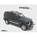 Thule AeroBlade Crossroad Roof Rack Installation - 2012 Jeep Liberty