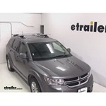 Thule AeroBlade Crossroad Roof Rack Installation - 2013 Dodge Journey
