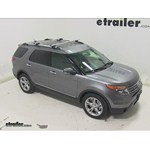 Thule AeroBlade Crossroad Roof Rack Installation - 2014 Ford Explorer