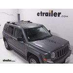 Thule AeroBlade Crossroad Roof Rack Installation - 2014 Jeep Patriot