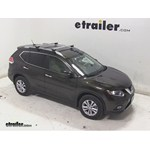 Thule AeroBlade Crossroad Roof Rack Installation - 2014 Nissan Rogue