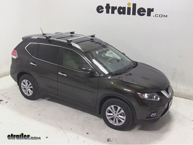 Captivating Thule AeroBlade Crossroad Roof Rack Installation   2014 Nissan Rogue Video  | Etrailer.com