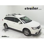 Thule Crossroad Roof Rack Installation - 2011 Dodge Journey