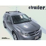 Thule Crossroad Roof Rack Installation - 2012 Dodge Journey