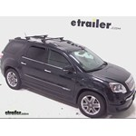 Thule Crossroad Loadbar Roof Rack Installation - 2012 GMC Acadia