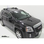 Thule Crossroad Roof Rack Installation - 2012 GMC Terrain