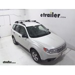 Thule Crossroad Roof Rack Installation - 2013 Subaru Forester