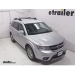 Thule Crossroad Roof Rack Installation - 2014 Dodge Journey