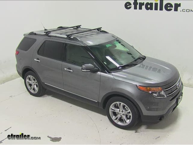 Thule crossroad roof rack installation 2014 ford explorer video thule crossroad roof rack installation 2014 ford explorer video etrailer sciox Image collections