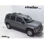 Thule Crossroad Roof Rack Installation - 2014 Jeep Patriot