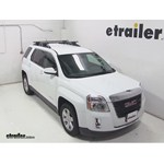 Thule Crossroad Load Bars Installation - 2013 GMC Terrain