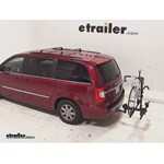 Thule Doubletrack Hitch Bike Rack Review - 2013 Chrysler Town and County