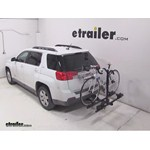 Thule Doubletrack Hitch Bike Rack Review - 2013 GMC Terrain