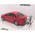 Thule Doubletrack Hitch Bike Rack Review - 2014 Chevrolet Cruze