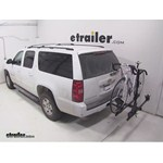 Thule Doubletrack Hitch Bike Rack Review - 2014 Chevrolet Suburban