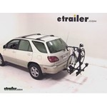 Thule Doubletrack Hitch Bike Rack Review - 2000 Lexus RX 300