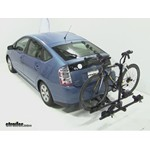 Thule Doubletrack Hitch Bike Rack Review - 2006 Toyota Prius