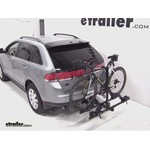 Thule Doubletrack Hitch Bike Rack Review - 2007 Lincoln MKX