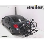 Thule Doubletrack Hitch Bike Rack Review - 2007 Scion tC