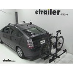 Thule Doubletrack Hitch Bike Rack Review - 2007 Toyota Prius