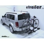 Thule Doubletrack Hitch Bike Rack Review - 2008 Dodge Nitro