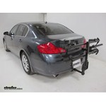 Thule Doubletrack Hitch Bike Rack Review - 2008 Infiniti G35