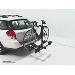 Thule Doubletrack Hitch Bike Rack Review - 2008 Subaru Outback