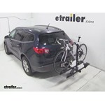 Thule Doubletrack Hitch Bike Rack Review - 2009 Chevrolet Traverse